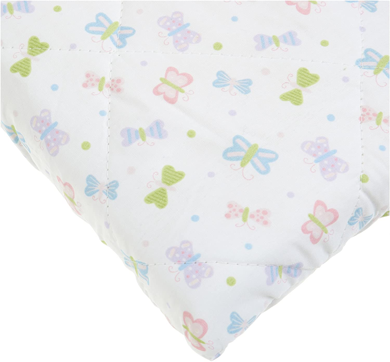 Carters Quilted Woven Playard Fitted Sheet, Butterfly (Discontinued by Manufacturer) Kids Line C151PFSQ