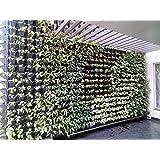 Planters Vertical Garden Green Panel 3 Frames + 9 Pots