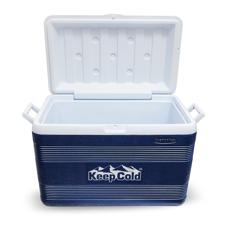 Keepcold mfibxx013 Deluxe IceBox 68, Marineblau