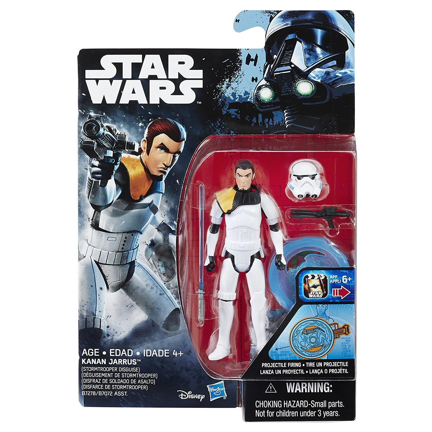 Figure Hasbro B7278AS0 Star Wars Rebels Kanan Jarrus Stormtrooper Disguise