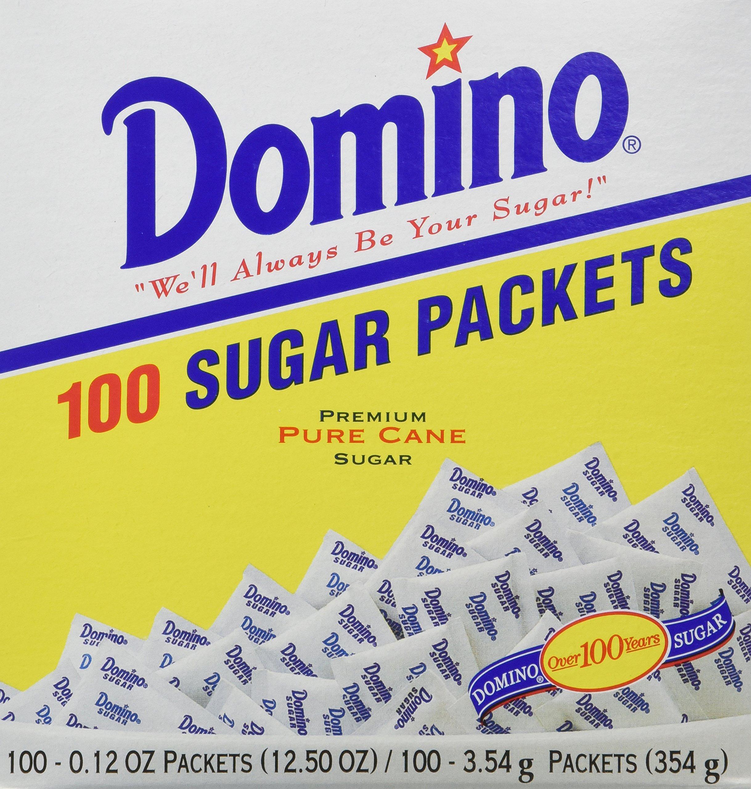 DOMINO SUGAR PACKETS - 200/ 3.54g Packs