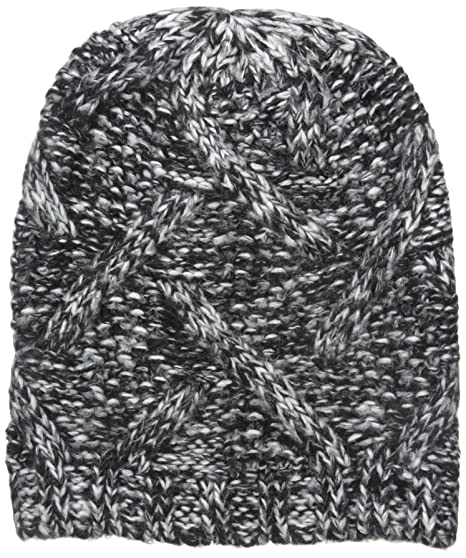 78427d33051 Nine West Women s Crazy Cable Marled Slouchy Beanie