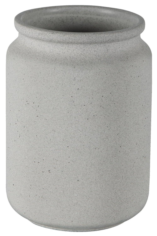 Spirella Cement Grey Zahnbecher Badaccessoire Keramik grau 11 x 8 cm