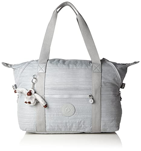 24a7a5c94f7 Kipling Women's Tote Bag - ART M Dazz Grey: Amazon.in: Shoes & Handbags