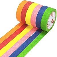 6 Cintas Carrocero de Colores Alto Rendimiento 25mm
