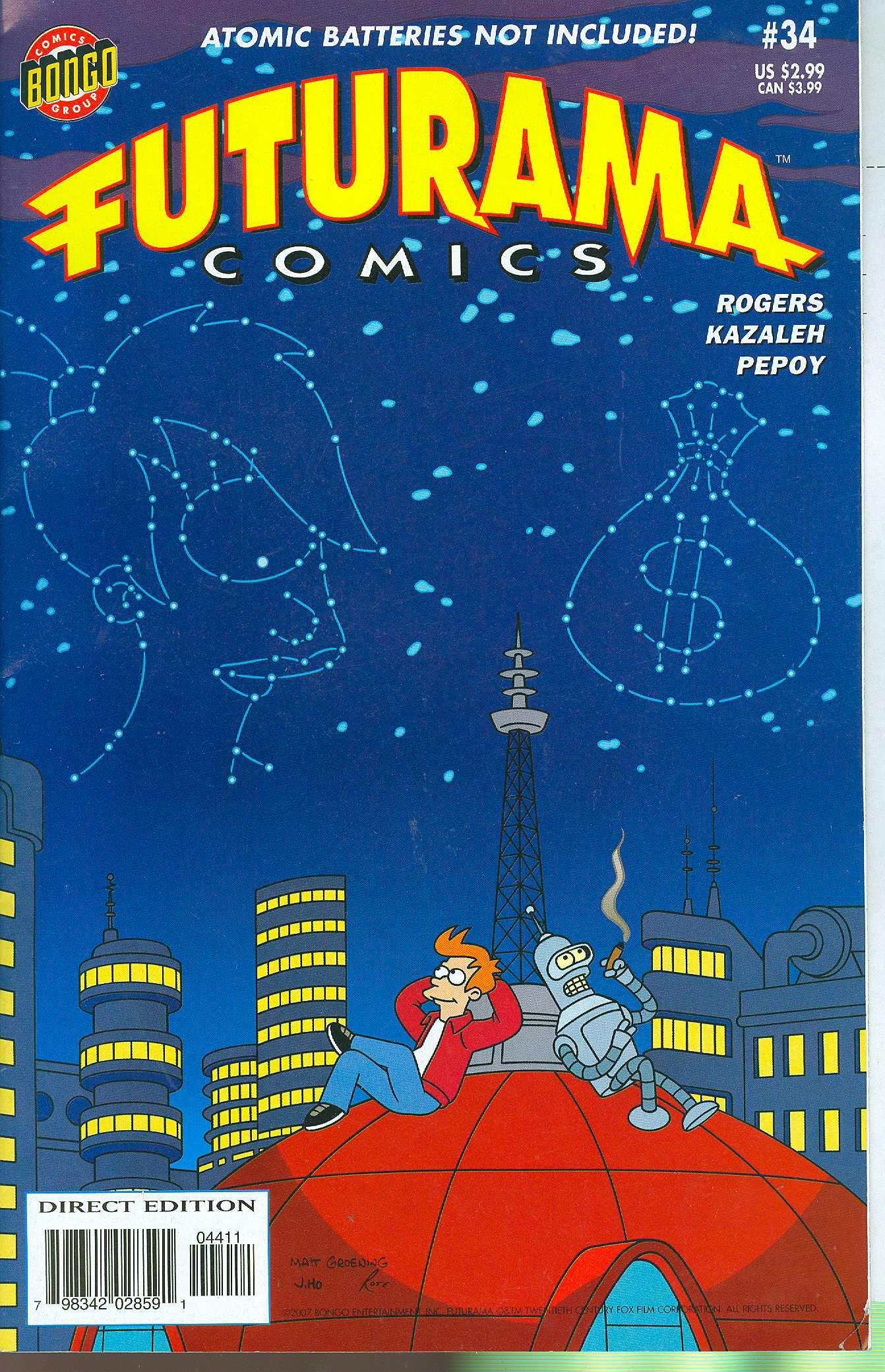 Download Futurama Comics #34 PDF