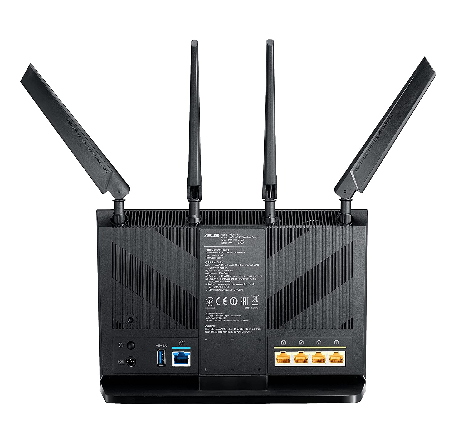 Wlan Router Sim Karte.Amazon Com Asus Wireless Modem Asus Nroina0208 2 4 Ghz 5 Ghz 4g