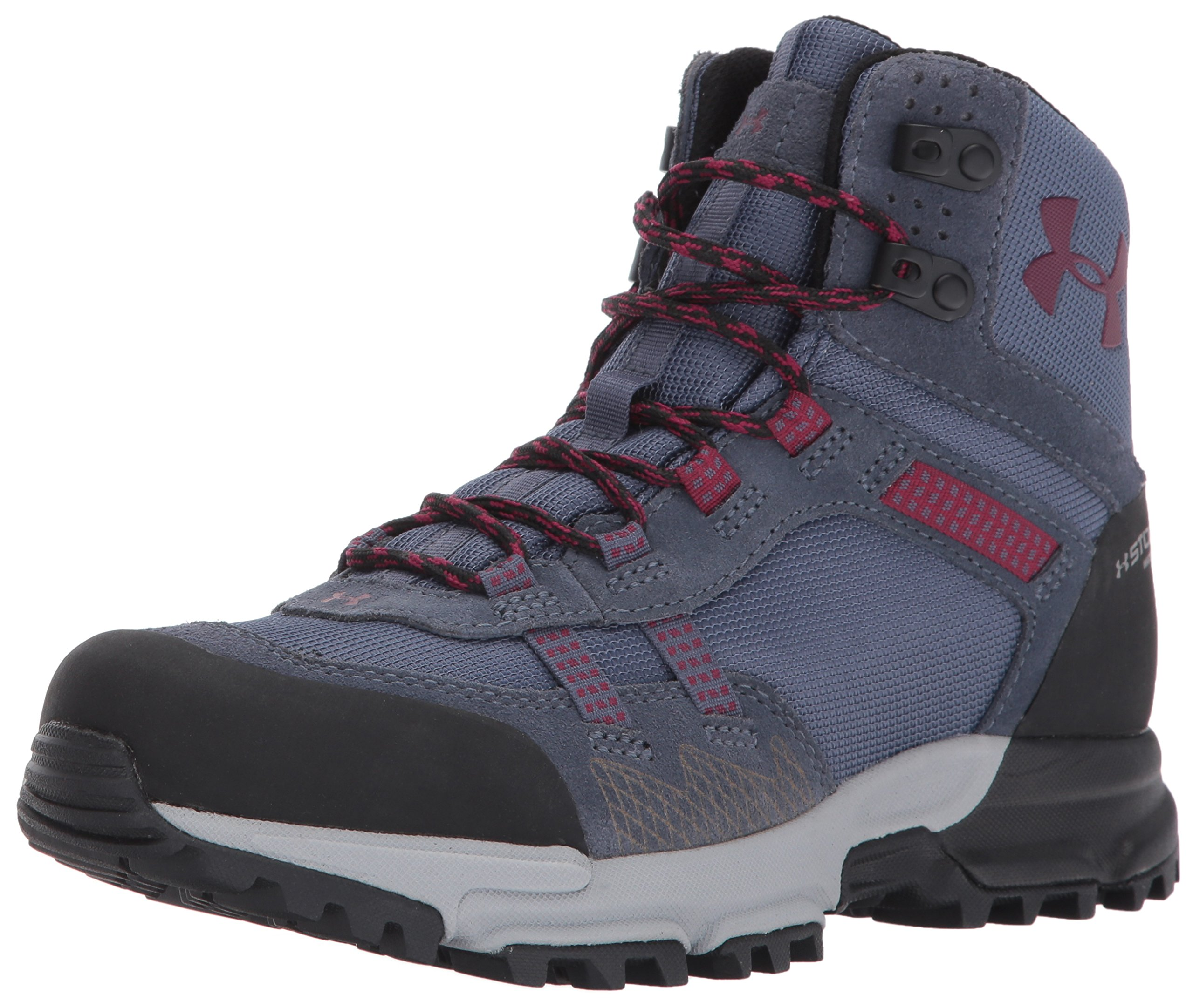 Under Armour Women's Post Canyon Mid Waterproof Hiking Boot, Apollo Gray (962)/Overcast Gray, 9