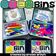 DIGITAL/PRINTABLE STEM BINS®/STEAM BINS® for K-5th Grade