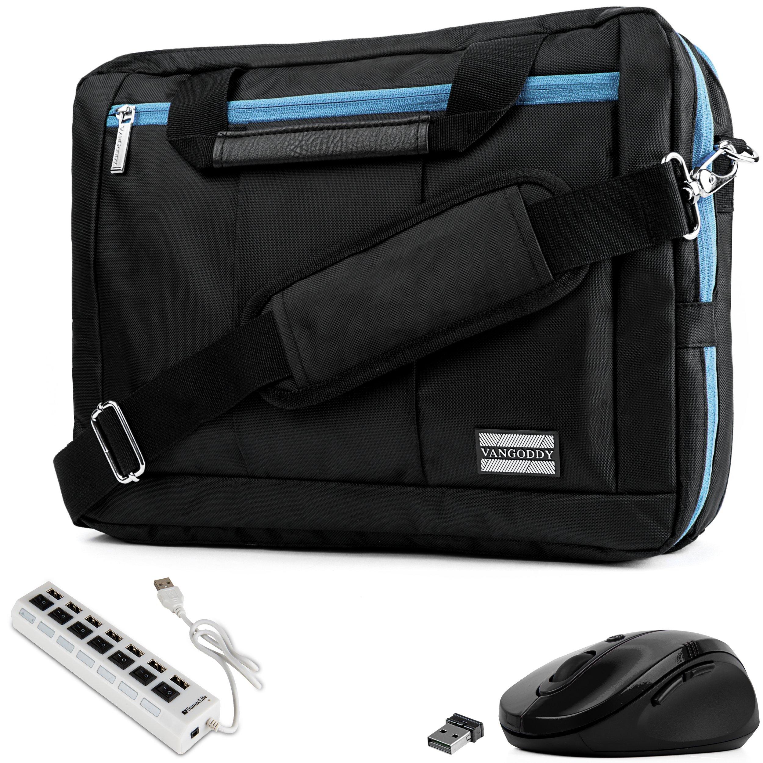 EL Prado 3-in-1 Hybrid Aqua Trim Laptop Bag
