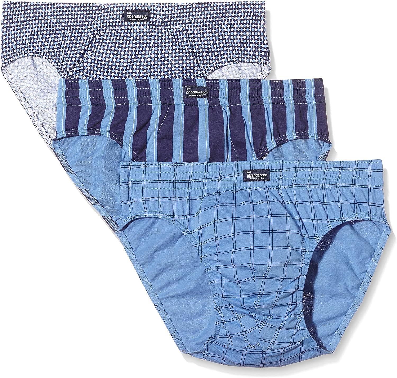 Abanderado Pack x 3 Slips Hombre Azul/Azul Marino XL: Amazon.es: Ropa y accesorios