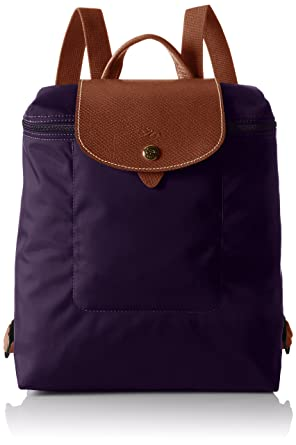Longchamp Women's Le Pliage Sac À Dos Backpack, bilberry