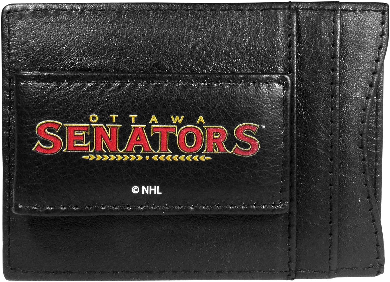 Siskiyou NHL unisex Logo Leather Cash and Cardholder