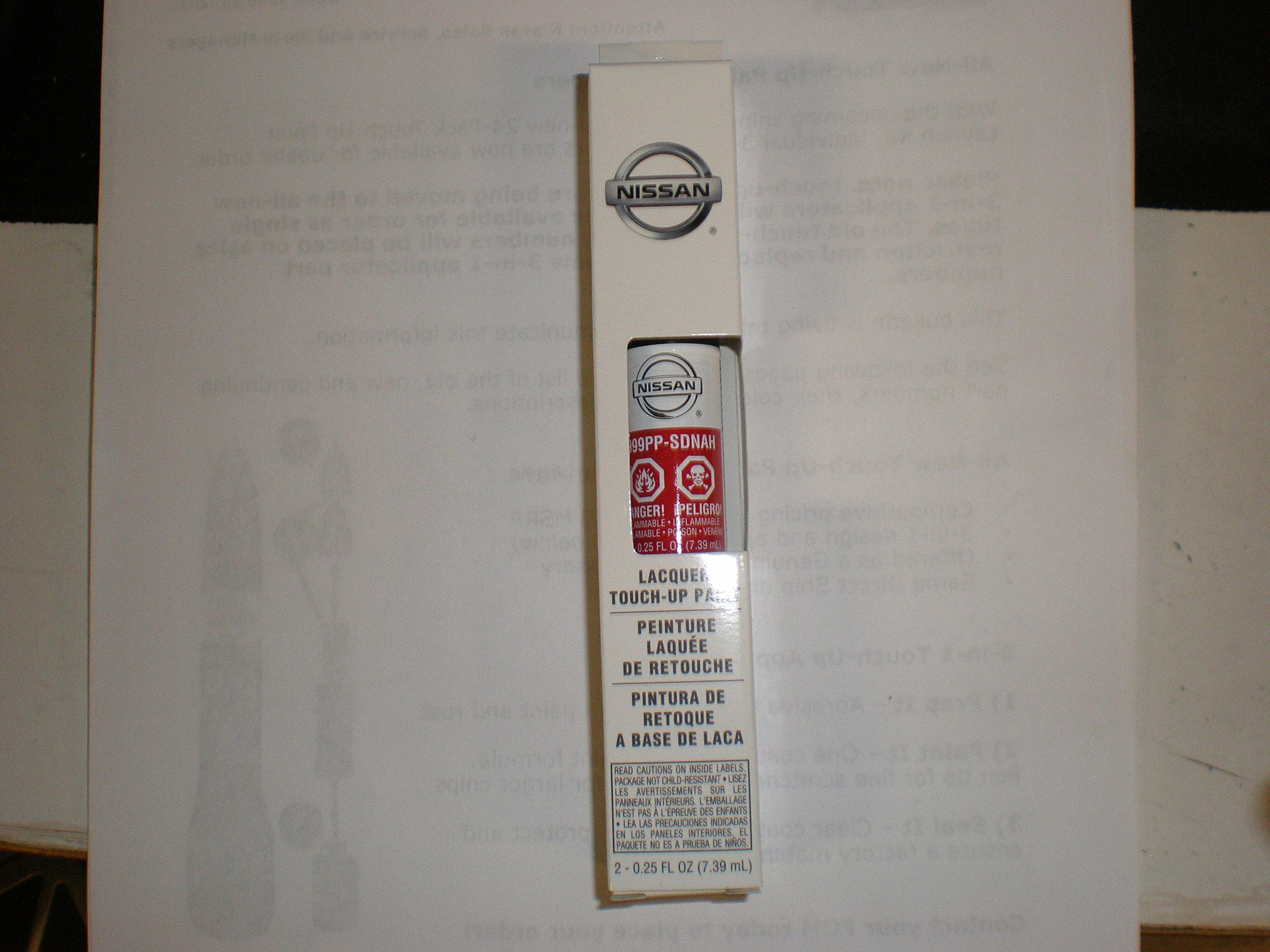 Nissan Touch up Paint .5oz 3-in-1 Applicator (NAH Cayenne Red)