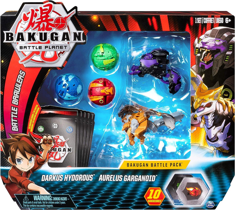 Bakugan Battle 5 pack - Mix 3 - Peonzas (Batalla de trompos ...