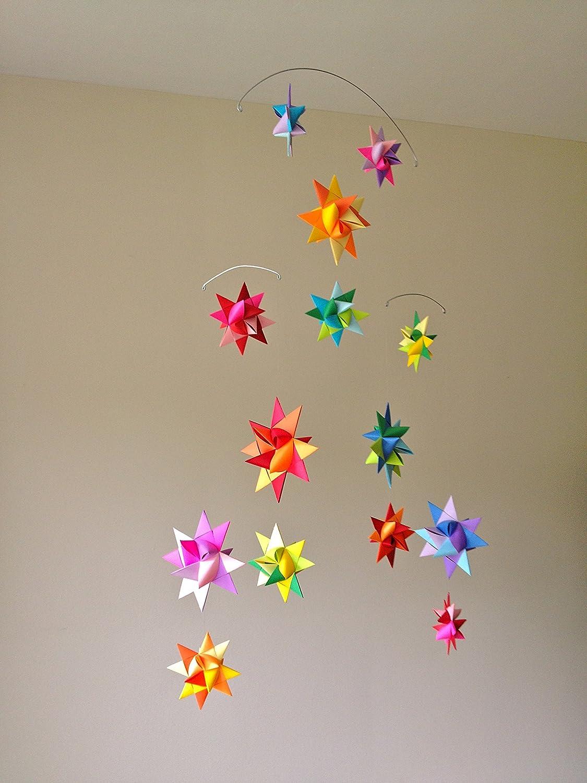 Amazon Star Craft Vela Star Mobile Rainbow Nursery