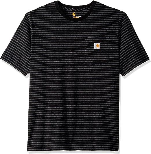Carhartt Men's K87 Workwear Pocket Short Sleeve T Shirt (Regular and Big & Tall Sizes)