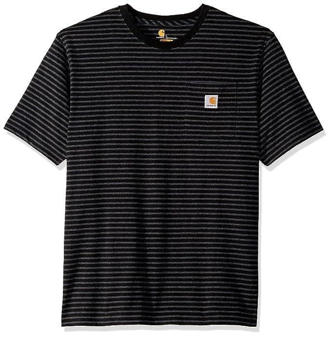 5e2664338d2a59 Carhartt Men's K87 Workwear Pocket Short Sleeve T-Shirt (Regular and Big &  Tall