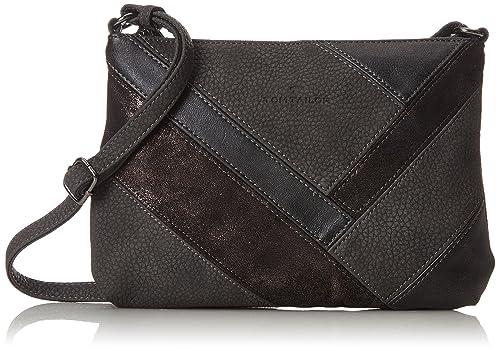 Body 2x18x26 Cross Bag Tailor Amalia gris Cm para Tom mujer dunkelgrau Acc wqvItxX