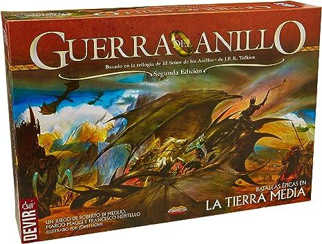 Devir - Guerra del Anillo, batallas épicas en la Tierra Media, Juego de Mesa (BGUERRA): Amazon.es: Juguetes y juegos