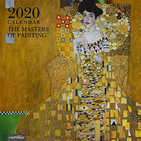 Calendario Gaf 2020.Calendario Da Muro 2020 The Masters Of Painting 30x30 Cm