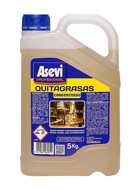 Asevi Profesional 26161 - Quitagrasas concentrado, 5 kg: Amazon.es ...