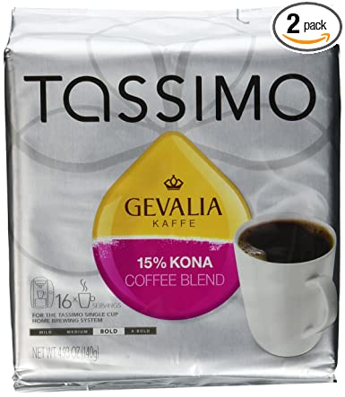 Gevalia Kaffe 15% Kona Blend Coffee: Amazon.com: Grocery ...