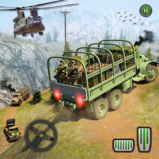 US Army Truck Driving Simulator 2018- Offroad Truck Games Free for Kids