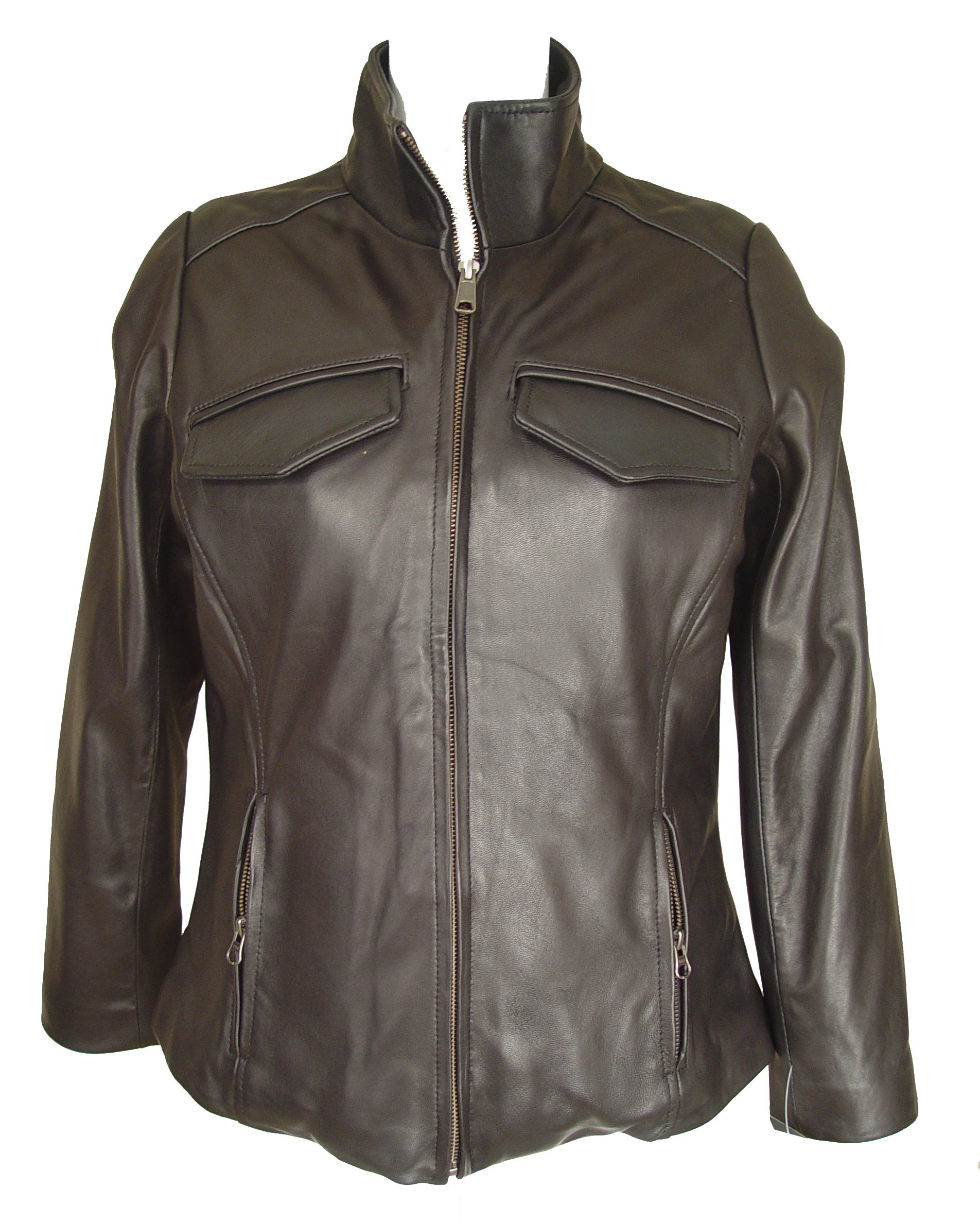 Nettailor 4082 Leather Moto Jackets Womens Genuine Fine Soft Lamb