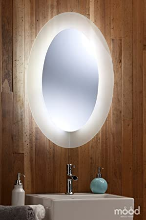 Bathroom Mirror LED Ambient White Surround Light