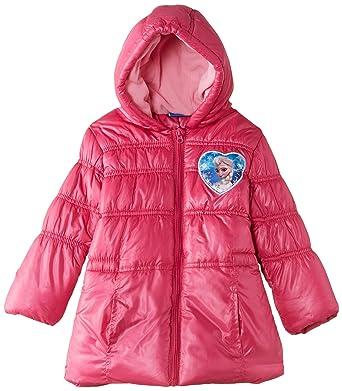 Disney Frozen, Abrigo para Niñas, Rosa, 6 años (116 cm)