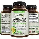 NutriRise Garcinia Cambogia - 3000mg - 120 Capsules