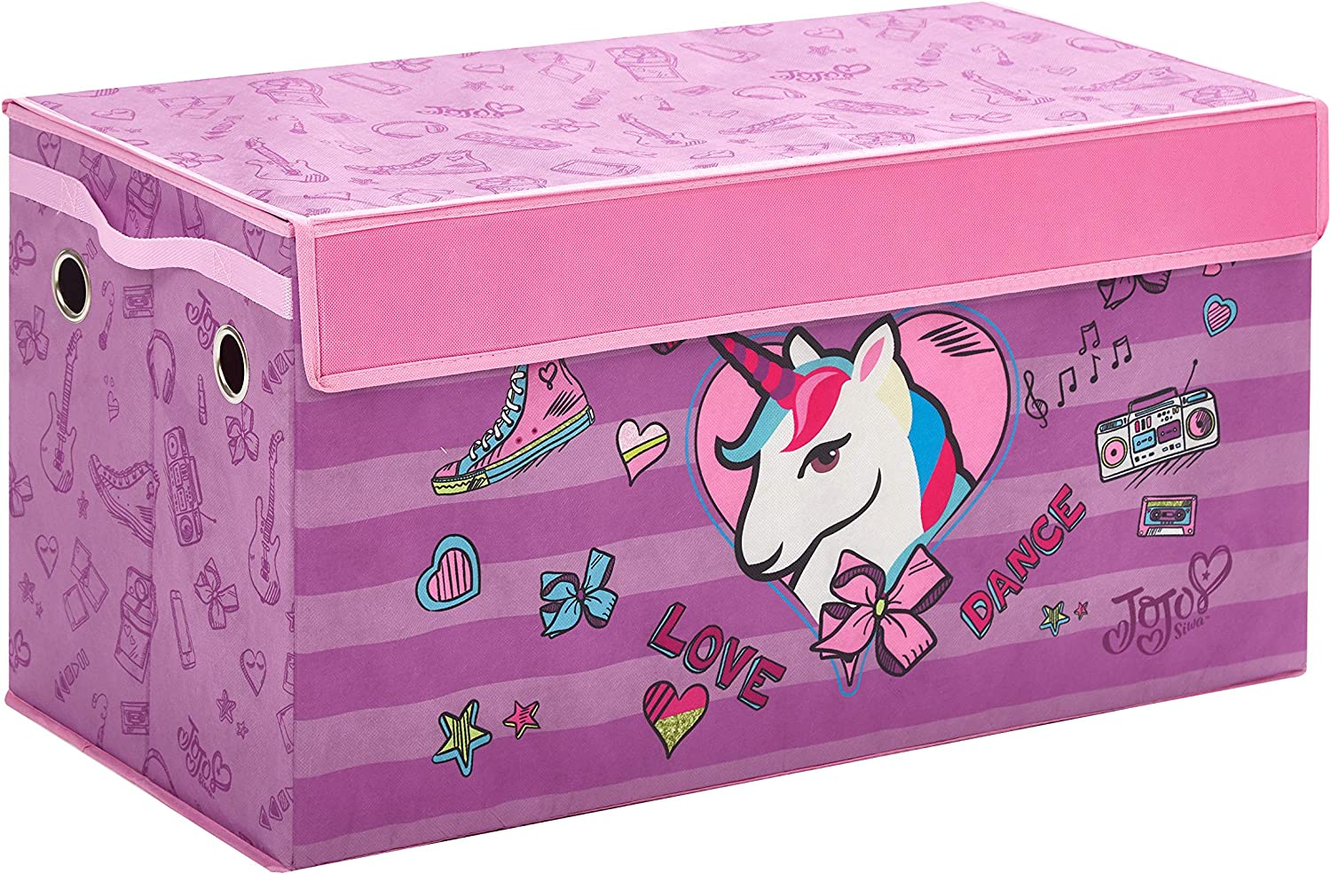 JoJo Siwa Collapsible Storage Trunk
