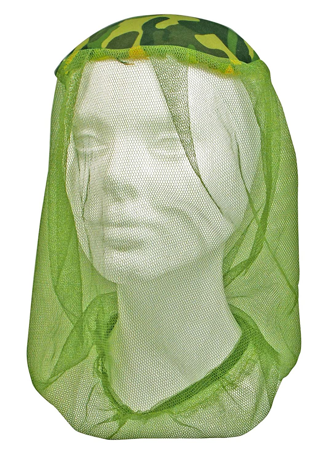 SE OD-422MH Mosquito Head Net Camouflage One Size Fits Most