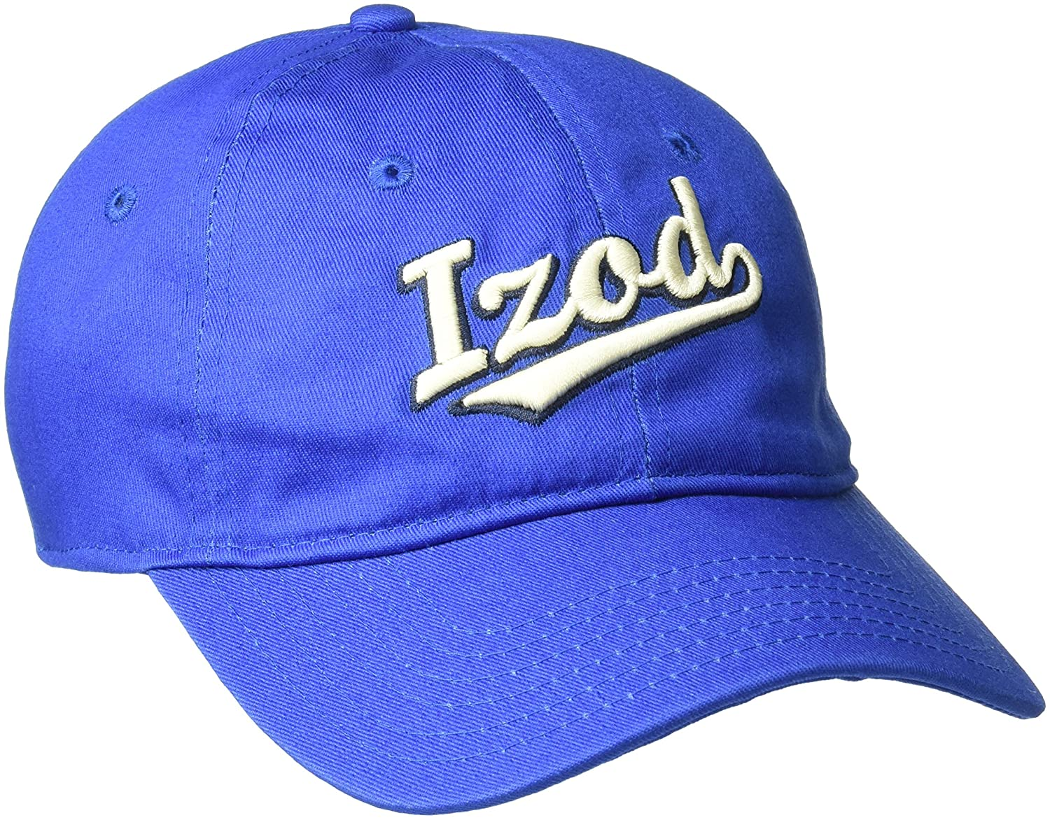Amazon.com: IZOD Mens Felt Embroidered Patch Adjustable Baseball Cap, Green, One Size: Clothing