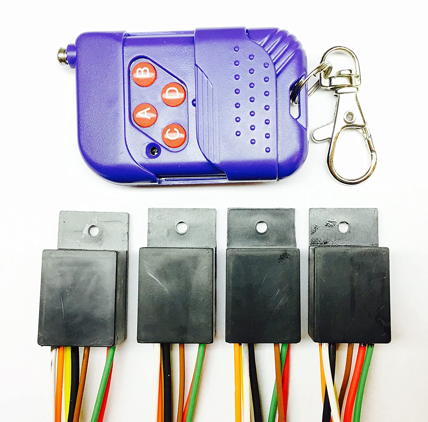 Amazon.com : 4x RF Remote Controlled Programmable Decoy Timers for