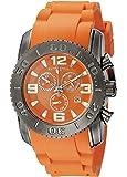 Swiss Legend Men's 10067-GM-06 Commander Analog Display Swiss Quartz Orange Watch