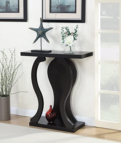 Convenience Concepts Newport Terry B Console Table, Espresso