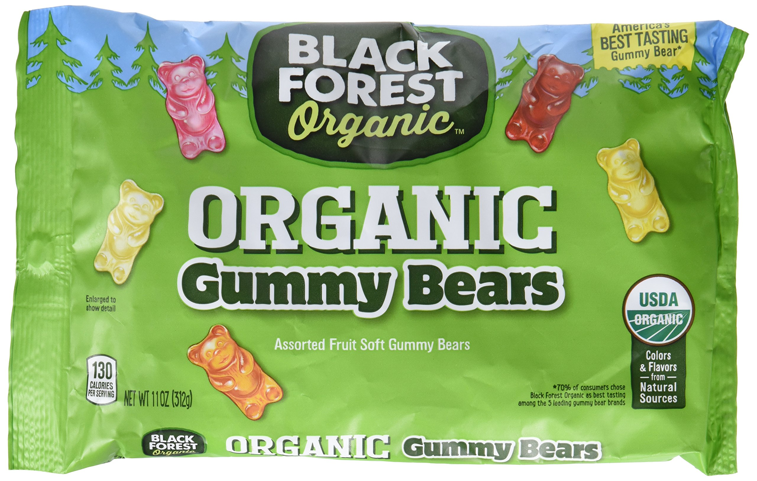 Haribo gummy bears are just one of many products that thomas - Black Forest Organic Gummy Bears 11 Ounce