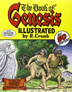 The r crumb coffee table art book kitchen sink press book for back the book of genesis illustrated by r crumb fandeluxe Choice Image