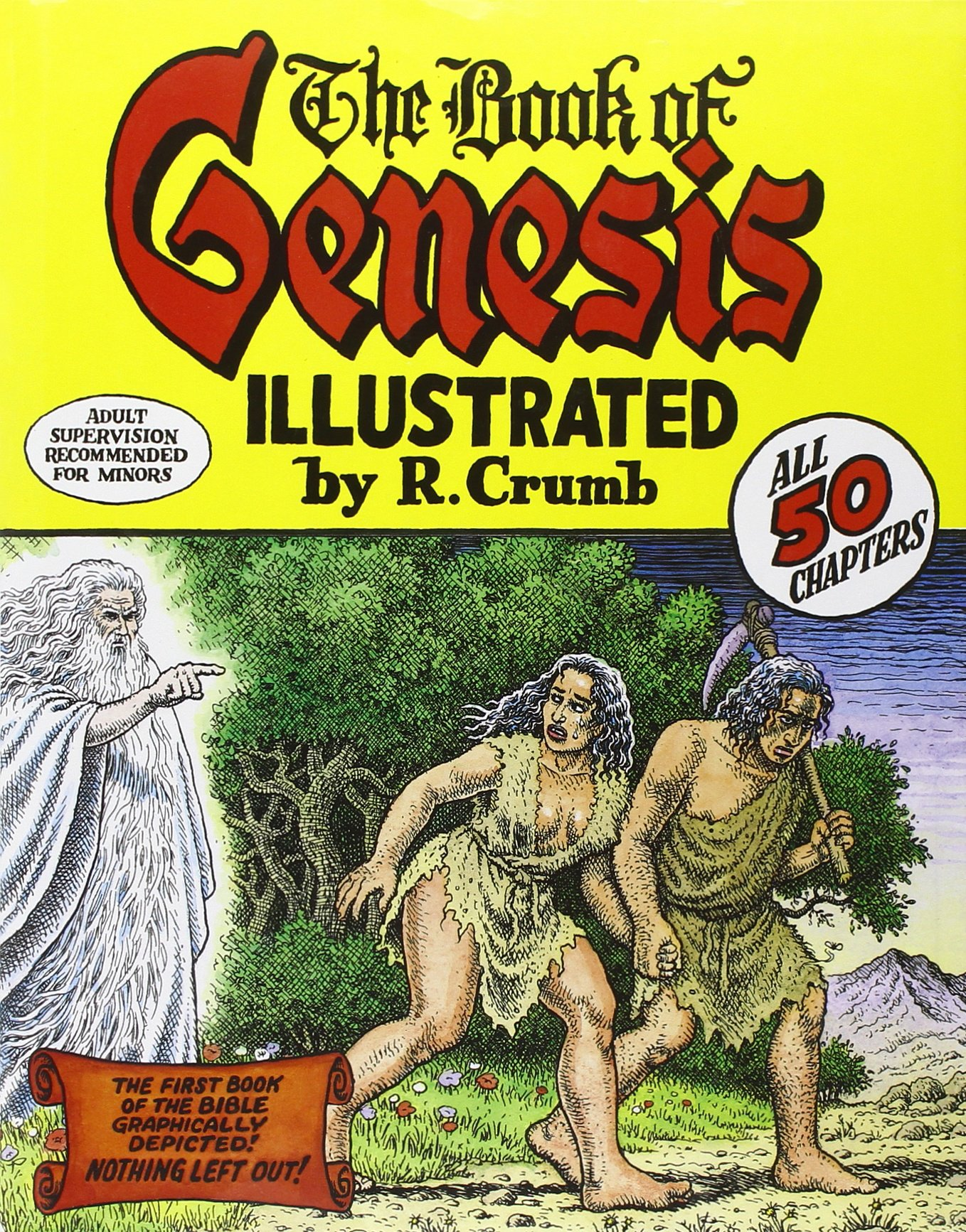 The Book of Genesis Illustrated by R. Crumb: R. Crumb: 9780393061024:  Amazon.com: Books