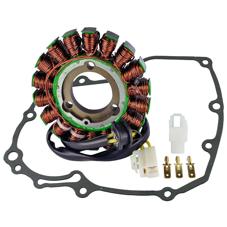 Generator Stator + Stator Cover Gasket For Suzuki GSXR 600 750 2006 2007 2008 2009 2010 2011 2012 2013 2014 2015 2016 OEM Repl.# 31401-01H00 31401-01H10 31401-01H20 RMSTATOR