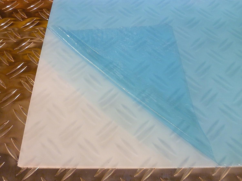 100 x 500 mm B/&T Metall PMMA Acrylglas Opal Wei/ß glatt 2,0 mm stark Milchglas Lichtdurchl/ässigkeit 78/% UV best/ändig beidseitig foliert im Zuschnitt Gr/ö/ße 10 x 50 cm