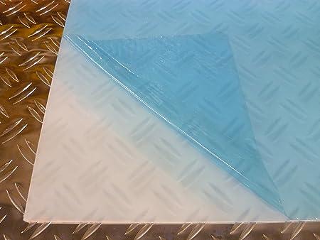 B /& T m/étal verre acrylique PMMA XT Transparent Transparent 2,0/mm d/épaisseur r/ésistant aux UV rev/êtement des deux c/ôt/és standard formats