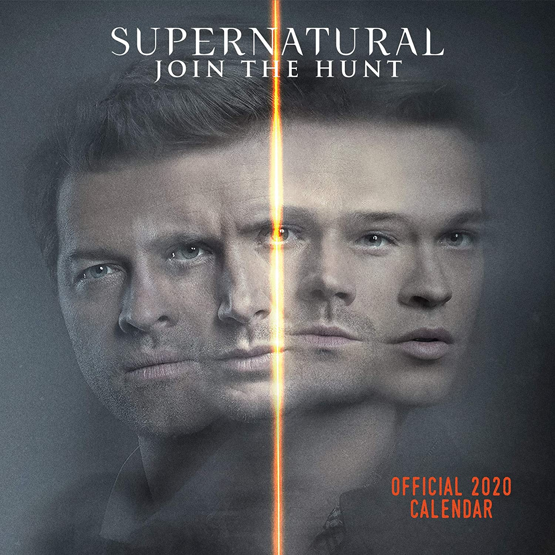 Supernatural 2020 Calendar - Official Square Wall Format Calendar