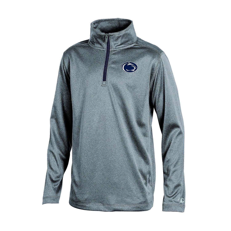 Champion NCAA Boys Long Sleeve Synthetic Quarter Zip Jacket