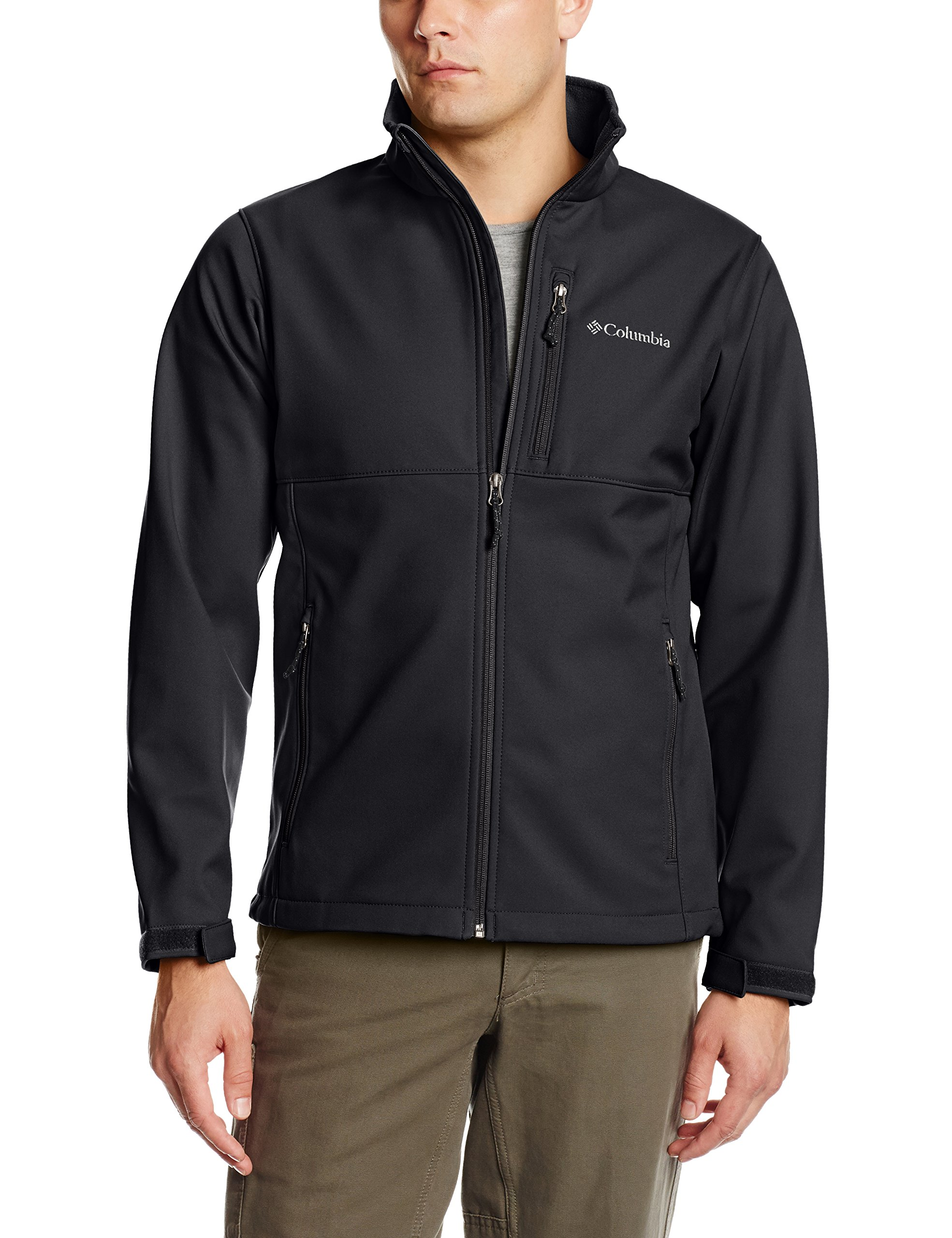 Columbia Men's Big & Tall Ascender Softshell Jacket, Black, 2X by Columbia