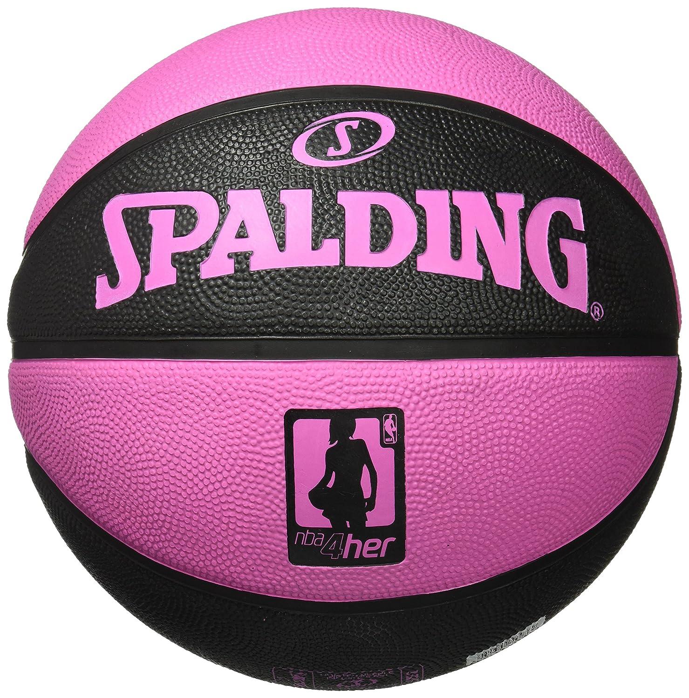 Spalding NBA 4Her Solid Sz.6 83-310Z Pelota de Baloncesto, Mujer ...