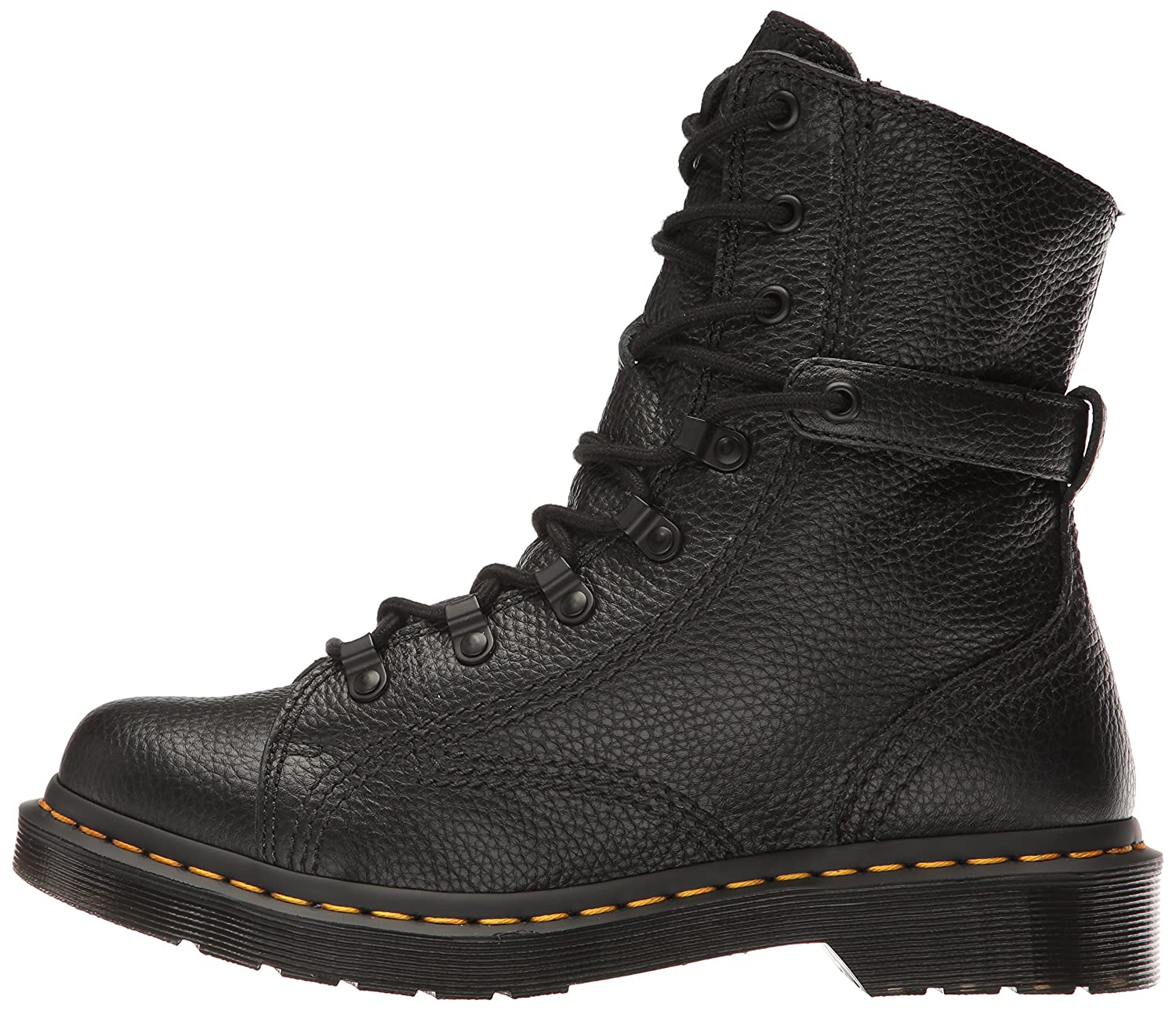 Dr. Martens Women's Coraline in Boot Aunt Sally Leather Combat Boot in B01IDY8RSQ 9 Medium UK (11 US)|Black Aunt Sally e7a4ed