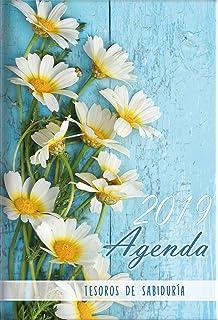 2019 Agenda - Tesoros de Sabiduría - Margaritas: Con un pensamiento motivador o un versículo